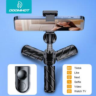 DoomHot Gậy Chụp Ảnh Tự Sướng Mini Giá Đỡ Ba Chân Chụp Ảnh Tự Sướng Từ Xa Bluetooth Gậy Chụp Ảnh Tự Sướng Để Bàn Gậy Chụp Ảnh Tự Sướng Giá Đỡ Ba Chân Điện Thoại Di Động Có Thể Co Giãn Điều Chỉnh 360 Giá Đỡ Điện Thoại Đa Năng Tự Hẹn Giờ thumbnail