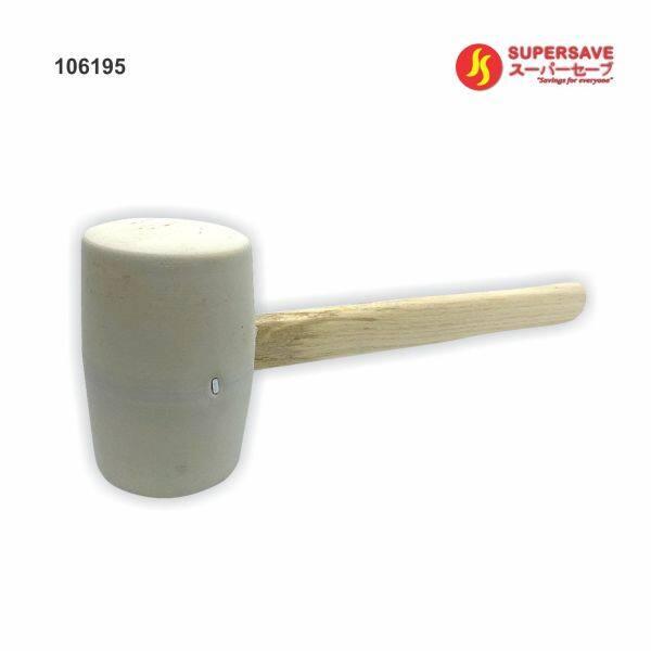 White Rubber Hammer Diameter 55mm 50mm