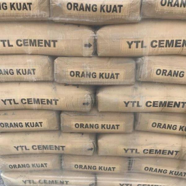 ytl cement 2kg packing
