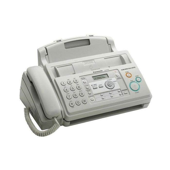 Panasonic Plain Paper Kx-Fp701ml Fax Machine By All It Hypermarket.