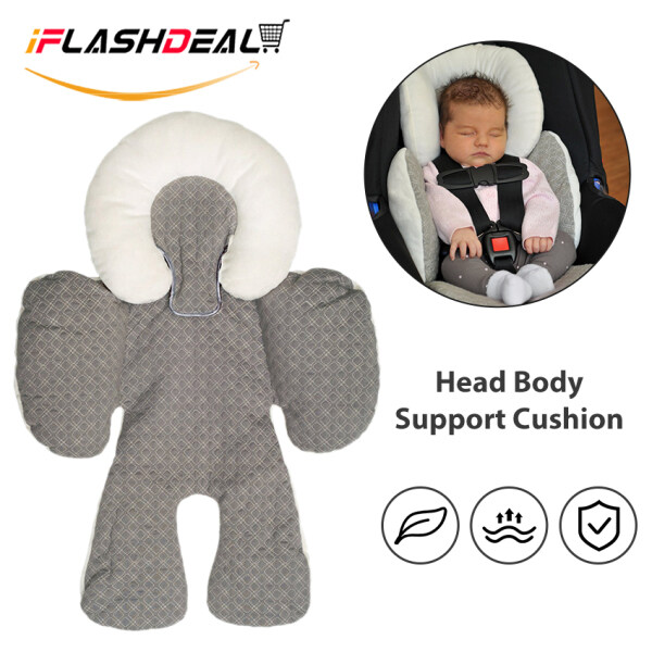 【Big Promotion】iFlashDeal Baby Stroller Baby Cushion JJ Cole Body Support Pad Mat Car Seat Head Body Support Pillow Cushion Singapore