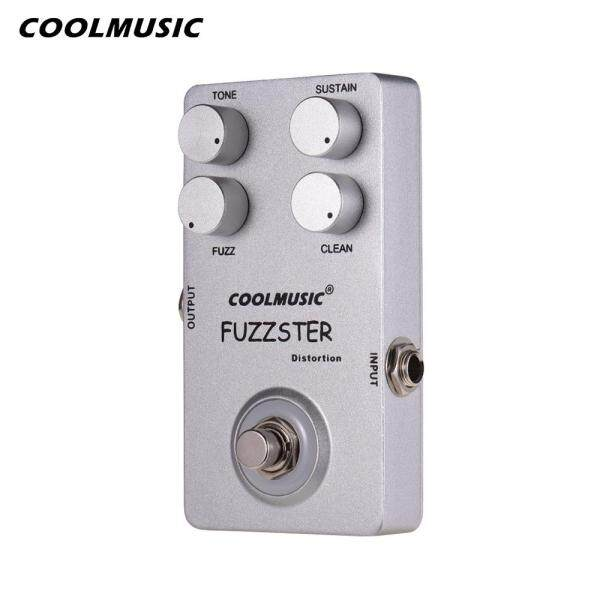COOL MUSIC C-FC1 Fuzzster Distortion Guitar Effect Pedal Bass Fuzz Pedal fSilver Malaysia