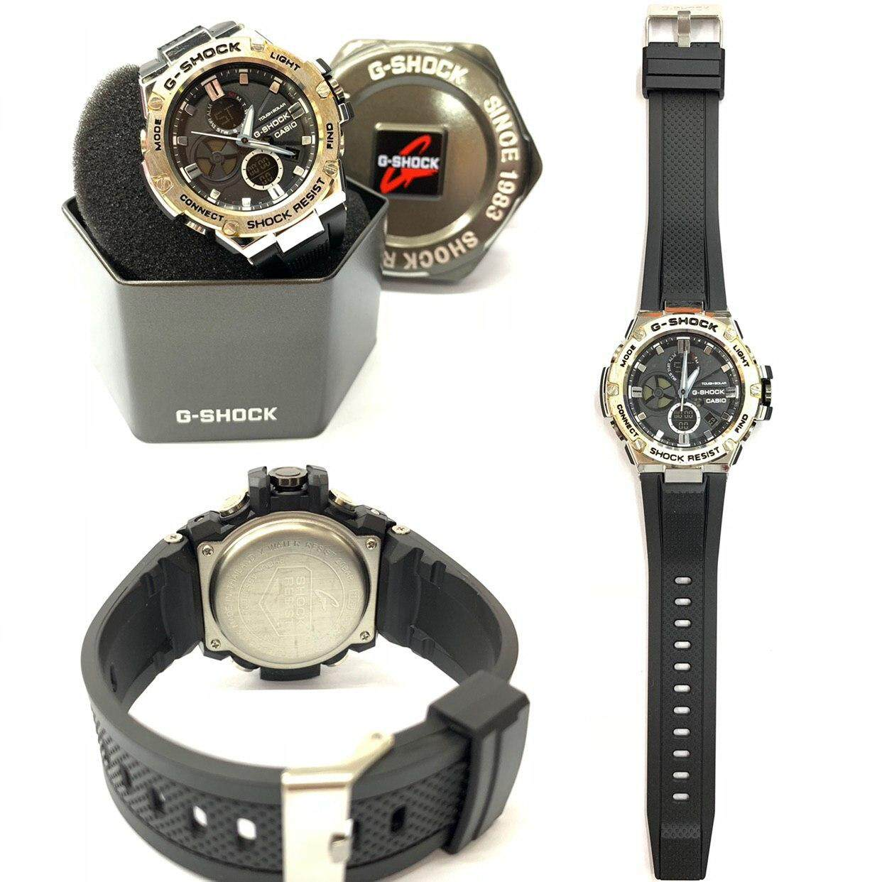 C.A.S.I.O_G.S.H.O.C.K Fashion Casual Watch For Men Ready Stock 100% Mineral Glass New Design Malaysia