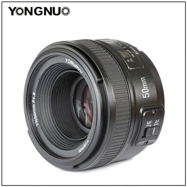 YongNuo 50 Mm YN50mm F1.8N Apertur Besar Auto Lensa Fokus untuk Lensa Nikon D5300 D3400 D7200 D3100 D3200 D90 D5100 D5600 D5200