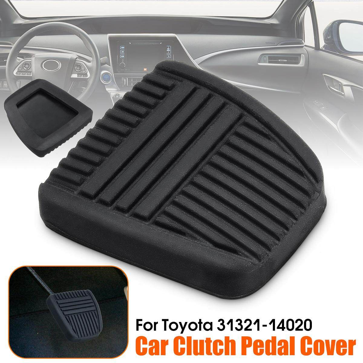 【free Shipping + Flash Deal】black Brake Clutch Pedal Pad Rubber Cover Trans For To*yo*ta 4runner 31321-14020 By Freebang.