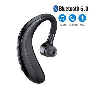 Stereo Tai Nghe Tai Nghe Bluetooth 5.0 Không Dây Tai Nghe Thể Thao Doanh Nhân Mini Tai Đơn Dài Giảm Tiếng Ồn Cuộc Gọi HD thumbnail