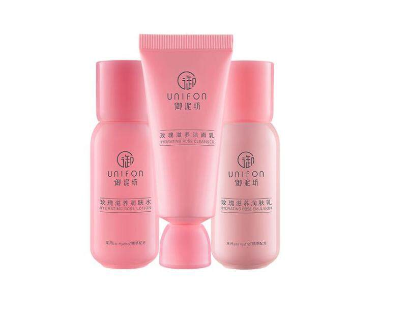 Buy Unifon Hydrating Moisturizing Rose Nourishing Travel Set Cleanser Lotion Toner Singapore