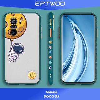 EPTWOO Dành Cho Xiaomi Poco F3 Ốp Điện Thoại, Dễ Thương Phim Hoạt Hình Nhân Vật Phi Hành Gia Máy In Ốp Lưng Mờ Đa Chất Liệu Ốp Chống Sốc, DT-01 thumbnail