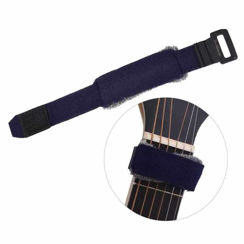 Guitar Fret Wraps Strings Mute Muter Fretboard Muting Wraps for Normal 6-string Acoustic Electric Guitars (Dark Blue) Malaysia