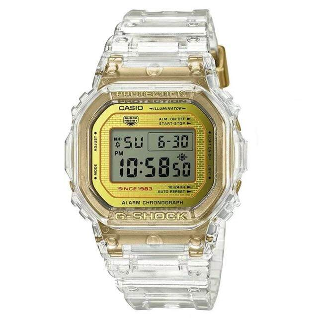 [BDAY SALE] Casio_G_Shock_DW5600 Glacier Gold Watch For Men Malaysia