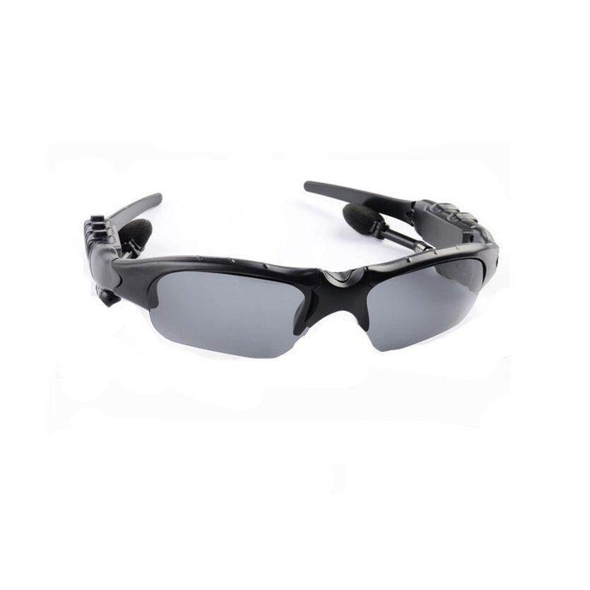 Di Sini Bebas Genggam Nirkabel Bluetooth 4.1 Headset Headphone Stereo Olahraga Kacamata Hitam