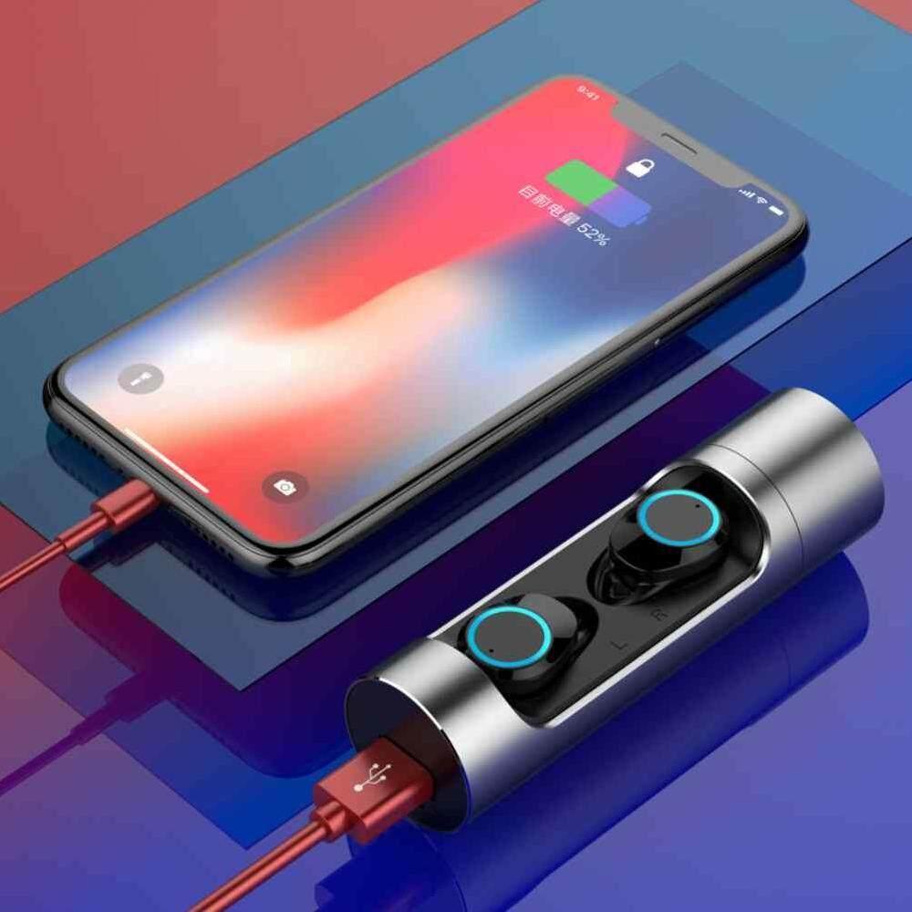 5b98bd71e2d Dueplay Mini X8 fingerprint touch Bluetooth 5.0 HIFI lossless tws wireless  binaural Bluetooth headset