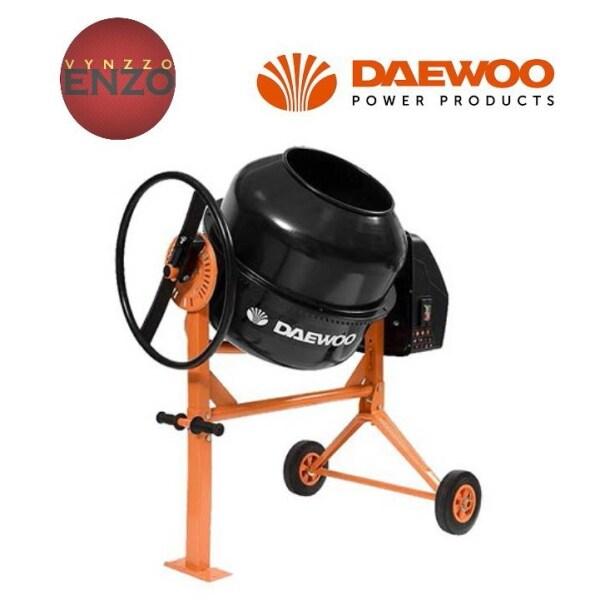 Daewoo DACM140H 140 Liter Electric Concrete Mixer