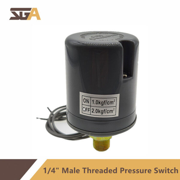 1/4 Male Threaded Water Pump Pressure Switch Control
