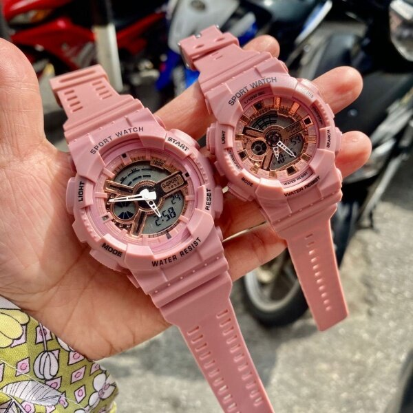 **BEST PRICE** New Sport Watch Dual Time For Couple (GREAT QUALITY) FAST SHIPPING Malaysia