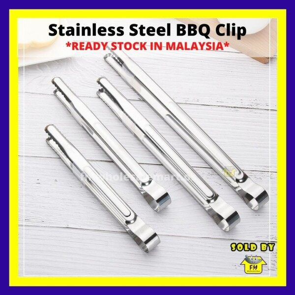 Stainless Steel Korean BBQ Clip / Barbecue Roast Clip / Kitchen Tongs / Bread Clip / Kitchen Tools