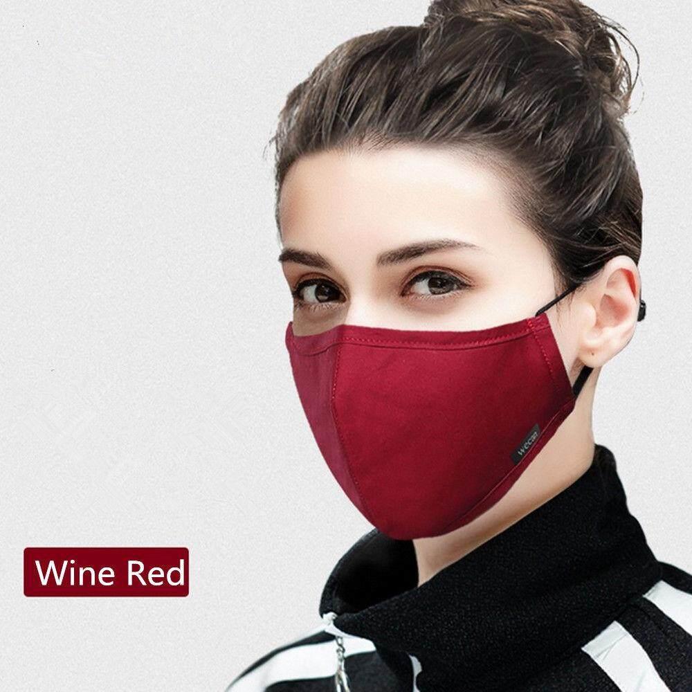 Qearl Shop Practical hot sale!!!Filter Respirator Face Mask Washable Cotton Mouth Sports