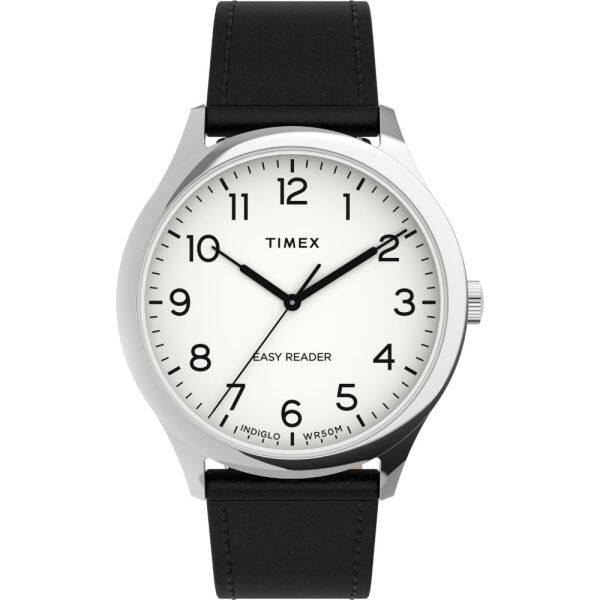 Timex Easy Reader® Gen1 40mm Leather Strap Watch (TW2U22100) Malaysia