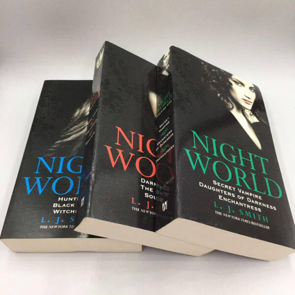 [3 Books/Set] English Original Novel Night World by Brian Carter Secret Flampipe Daughters of Darkness Enchatress