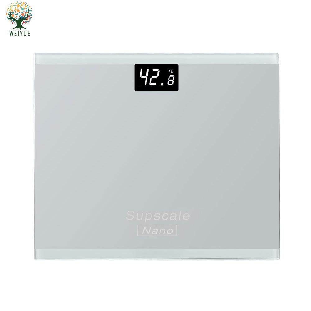 Body Fat Scale Electronic Weighing Scales Weight Scale Tempered Glass Supscale Keep Shape Bathrooms Household By Weiyue Store.