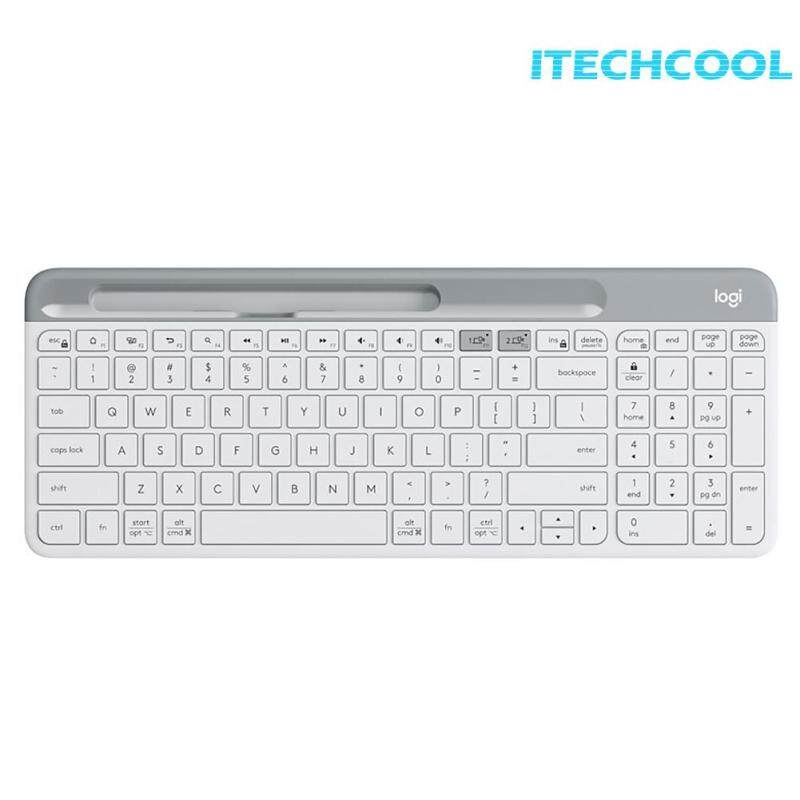 K580 2.4G Wireless Keyboard Portable Ultra-thin Dual Mode Keyboard for PC Laptop Singapore