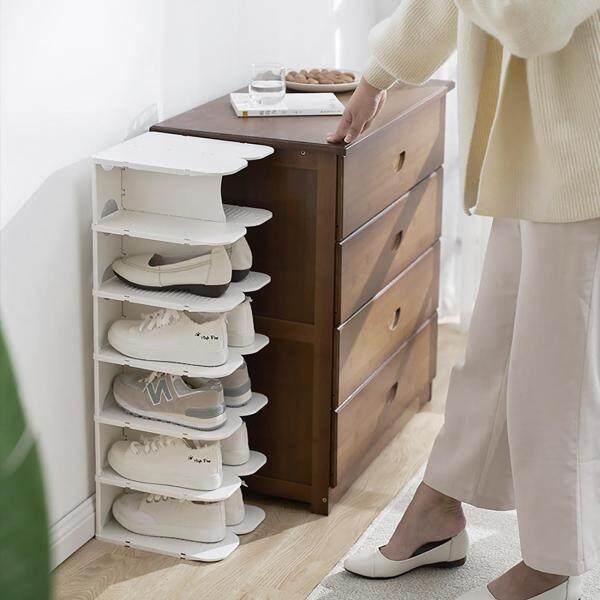 Homenhome Five-layer Shoe Rack Detachable Shoe Cabinet Shelf