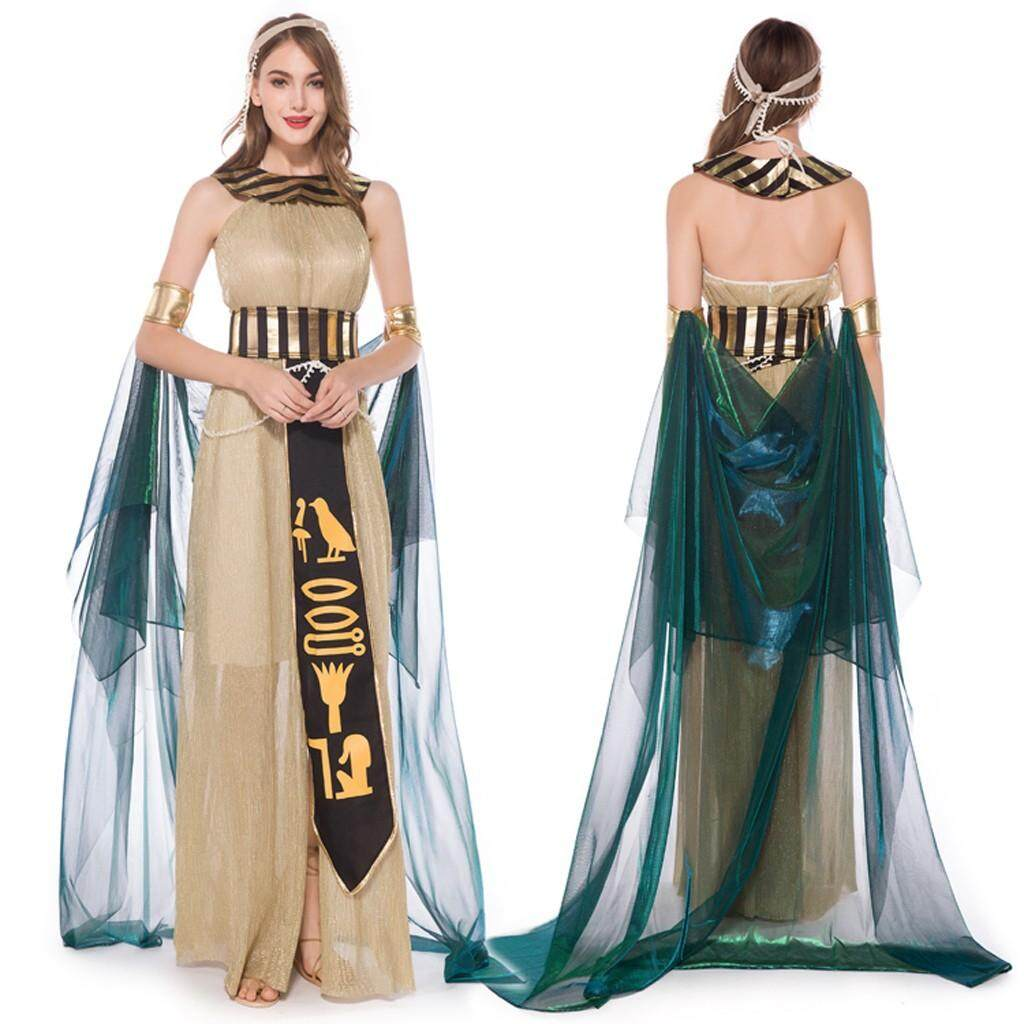 Floral Print Dress For Women Women Halloween Cosplay Greek Goddess Medieval Costume Play Long Dress Long dreeses ladies dresses Girl dresses Women's Casual Plus Size dress