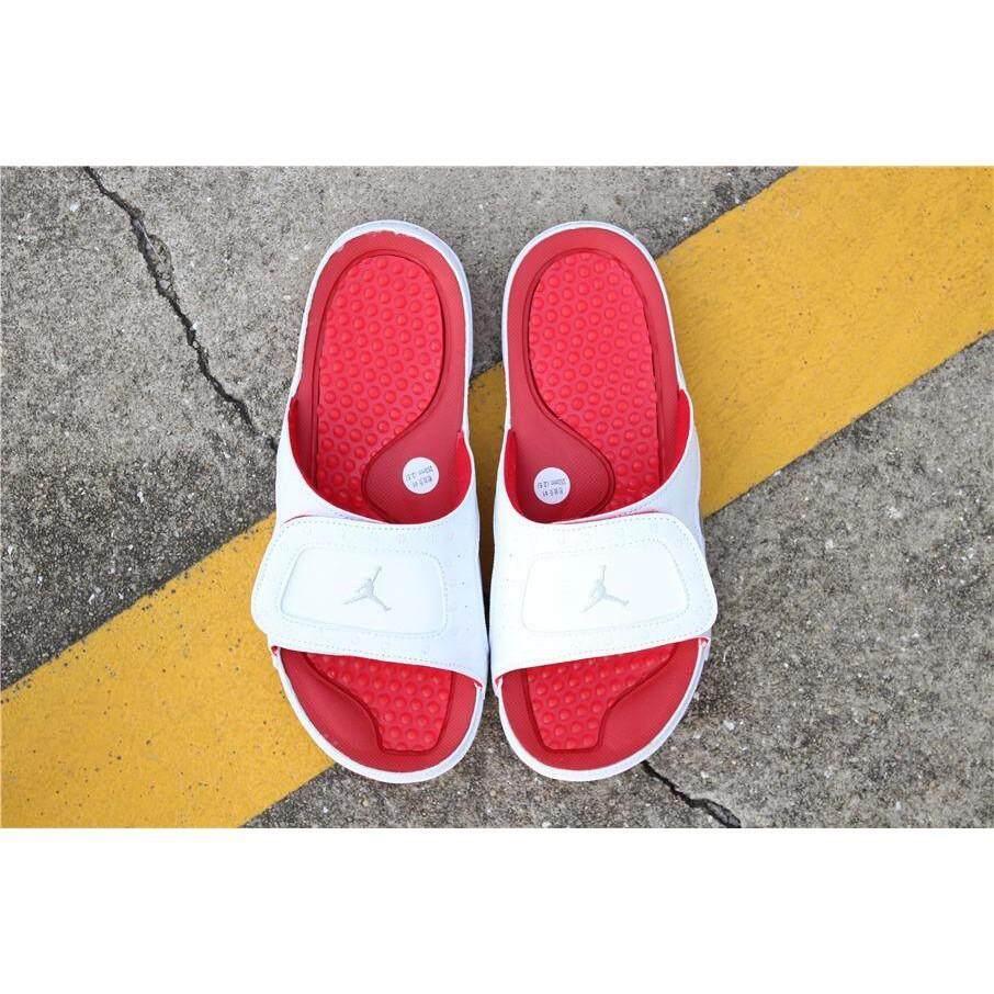 online retailer 515e7 36b3b 100% original Nike Air Jordan slippers with white sandals