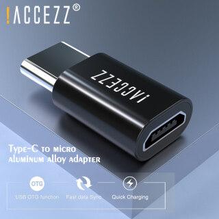 ACCEZZ Bộ Chuyển Đổi Điện Thoại Di Động Loại C 3.0 Đầu Đực Sang Micro, Hợp Kim Nhôm OTG Dành Cho Huawei Xiaomi OPPO Redmi Máy Tính Bảng PC Điện Thoại Di Động Thiết Bị Giao Diện USB C Bộ Chuyển Đổi Dữ Liệu Đồng Bộ Sạc thumbnail