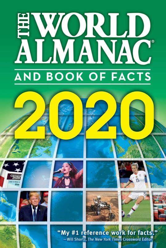 BORDERS The World Almanac and Book of Facts 2020 Paperback  by Sarah Janssen  (Editor) Malaysia
