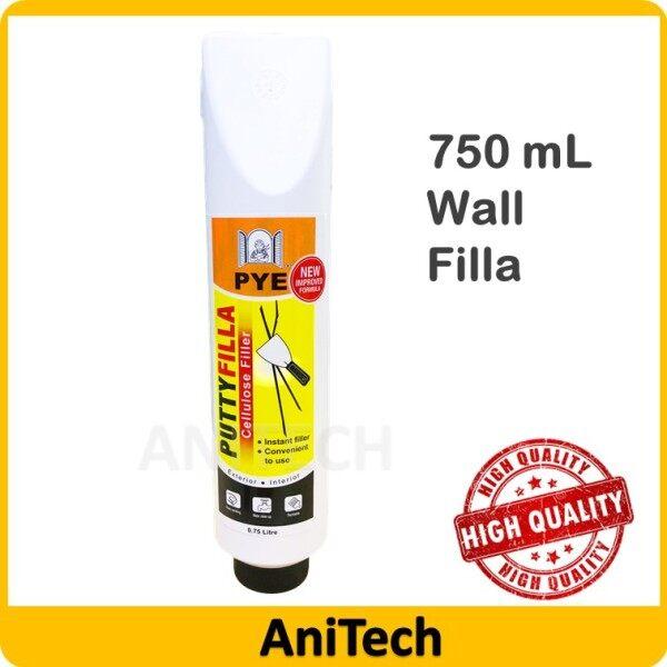 [PYE] 750 ml Putty Filla Wall Filla Sealeant Filling Cracks And Holes Instant Filla Filler White Home Kitchen Bathroom / Penampal Batu Filla