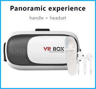 Hộp VR Kính 3D Trò Chơi Phim Thực Tế Ảo, Dành Cho Tai Nghe Điện Thoại Thông Minh Với Bộ Điều Khiển thumbnail