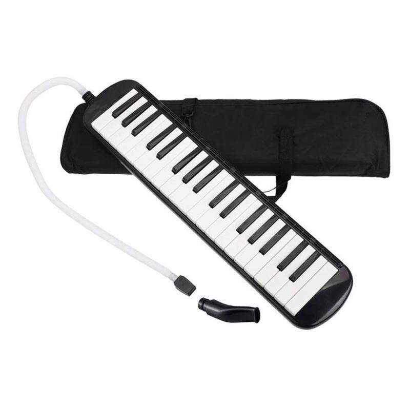 SilyNew 37 Key Melodica Instrument With Mouthpiece Air Piano Keyboard,Carrying Bag Malaysia