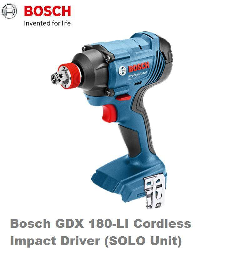 BOSCH GDX 180-Li 18V IMPACT DRIVER SOLO UNIT WITHOUT BATTERY AND CHARGER