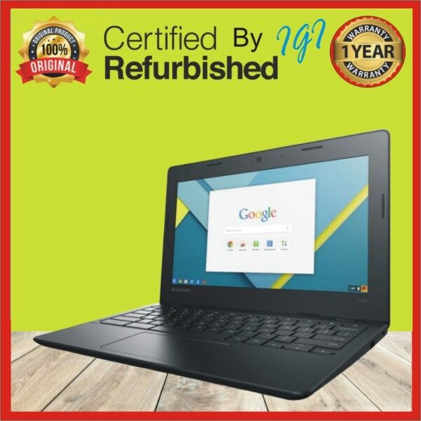 Lenovo N21 Chromebook 4GB DDR3 ,16GB , HDMI USB 3.0(Refurbished) Malaysia