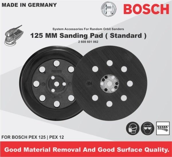 BOSCH 125MM Backing Pad Standard  FOR PEX 125 PEX 12 (2 608 601 062)