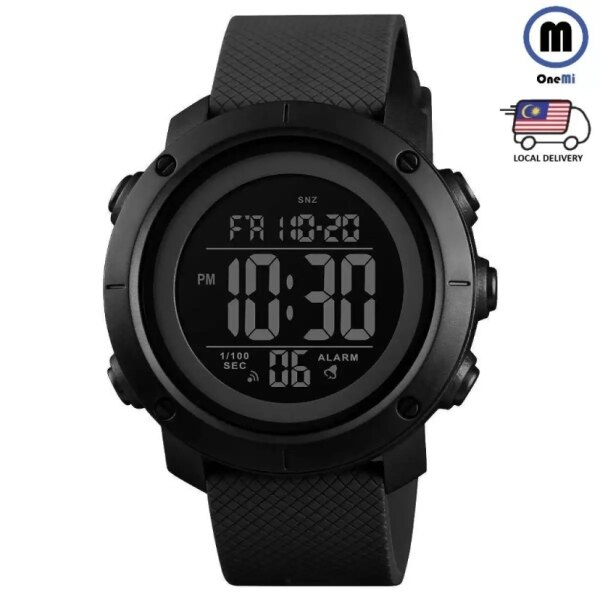 [READY STOCK] SKMEI  Men Sport Watch Waterproof Digital Watches Countdown alarm fashion Wristwatch Male Clock Jam Tangan lelaki Malaysia