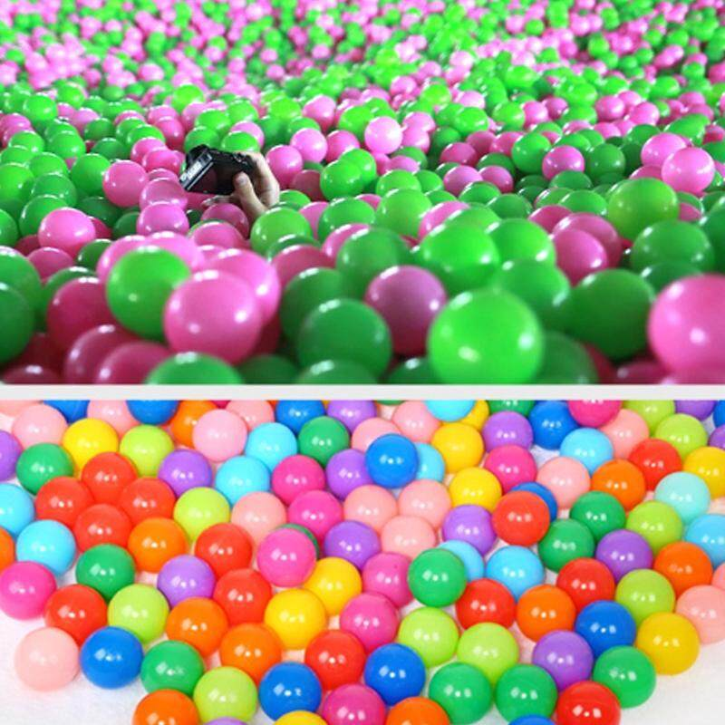Pool Outdoors Baby Kids Soft Toys Colorful Ocean Wave Balls Swim 100pcs Toy Ball By Skygrasses.
