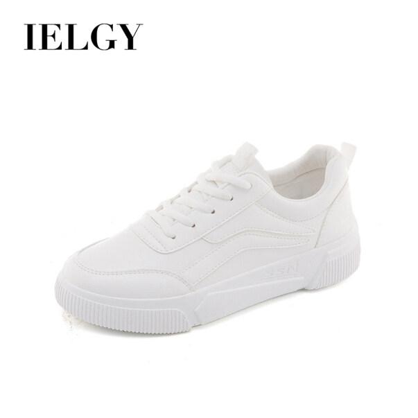 Giày Trắng Nhỏ Thời Trang IELGY Giày Nữ Hoang Dã Giày Thể Thao Đế Bằng Màu Trắng Hàn Quốc giá rẻ