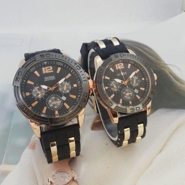 SPECIAL PROMOTION GUES_COUPLE SET_ANALOG FUNCTION PREMIUM QUALITY UNISEX WATCHES Malaysia