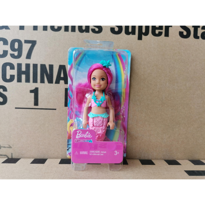 Búp Bê Barbie Cầu Vồng Nàng Tiên Cá Nhỏ Kelly Gjj85 Bé Gái Công Chúa Nhà Vui Chơi Đồ Chơi Bỏ Túi Cho Trẻ Em Giá Cực Ngầu