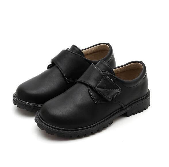 df09d2a5932d Boys School Leather Shoes for Kids Genuine Leather Wedding Shoes Children  Oxford Dress Designer Black shoes