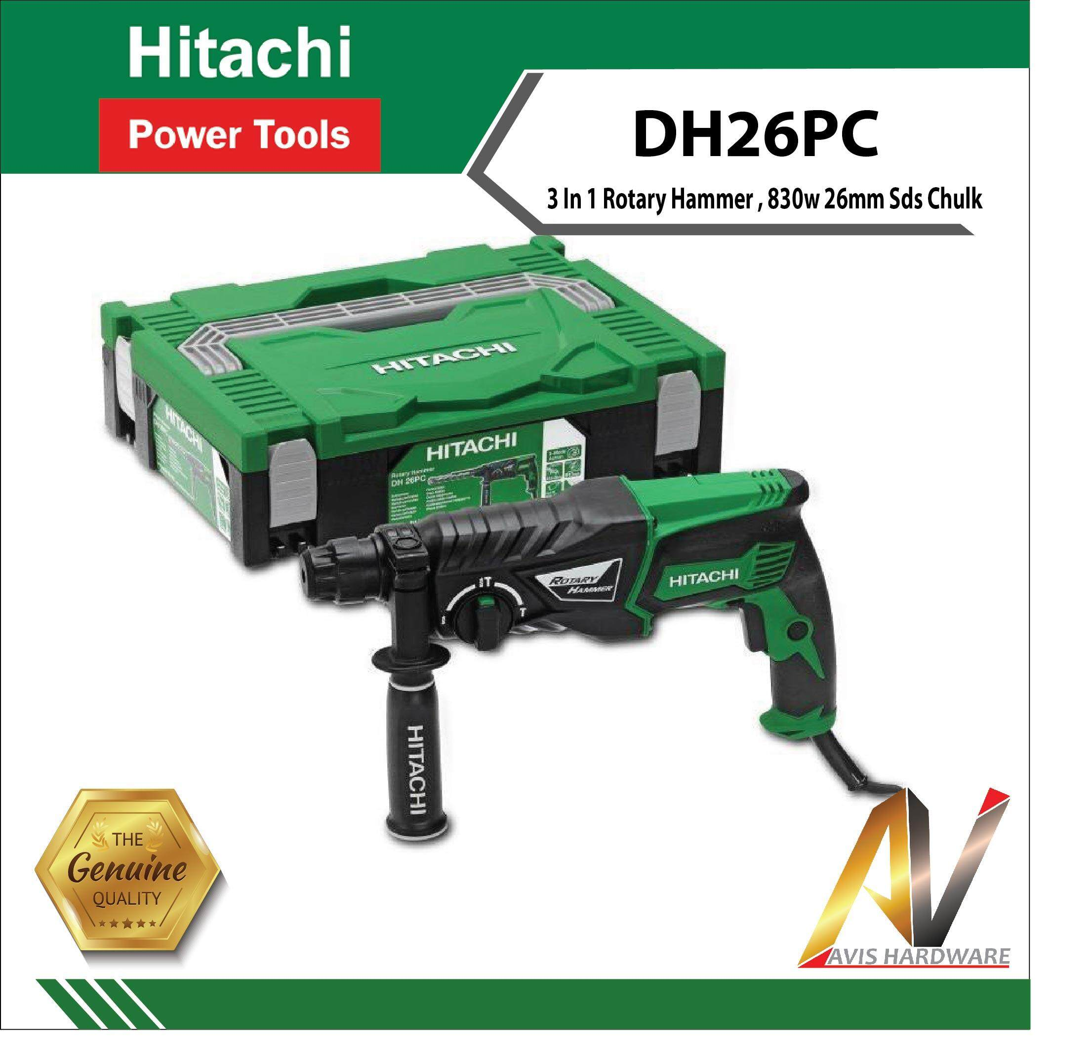 Hikoki/Hitachi DH26 PC Rotary Hammer 26MM