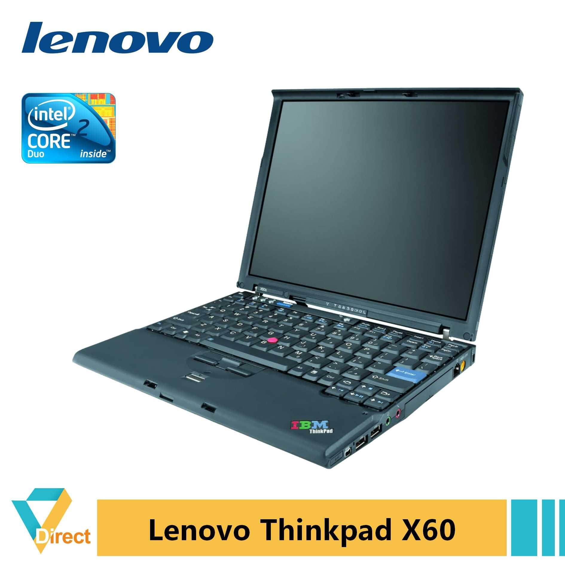 Lenovo Thinkpad X60 laptop PC 4GB RAM 240GB SSD  also 120GB SSD Malaysia