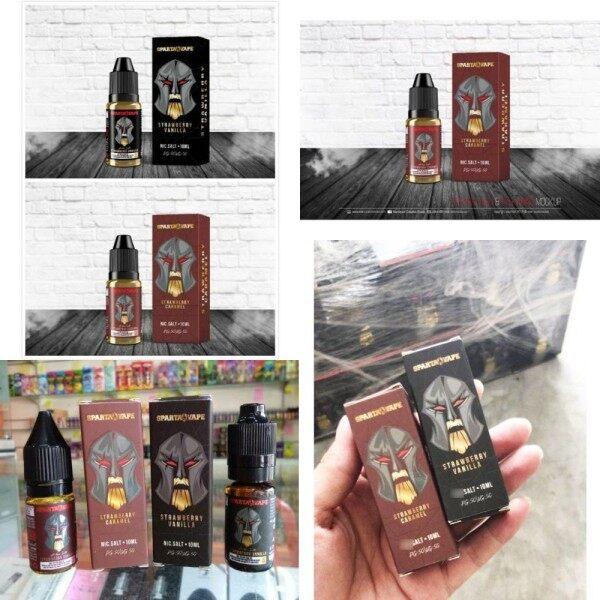 SPARTA SALT JUICE COFFEE HAZELNUT STRAWBERRY VANILLA STRAWBERRY CARAMEL SALT 10ML 15ML 30ML SPARTA SALT Malaysia