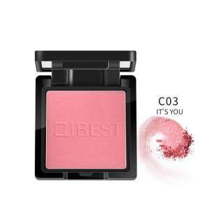 Alat Makeup Bubuk Blusher Pipi Padat, Kosmetik Bedak Pencerah Pipi Wajah Wanita thumbnail