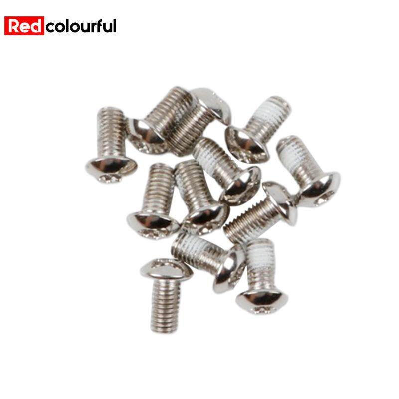 12Pcs MTB Bike Bicycle Head Disc Brake Steel M5x10mm Rotor Bolt Screw Nut