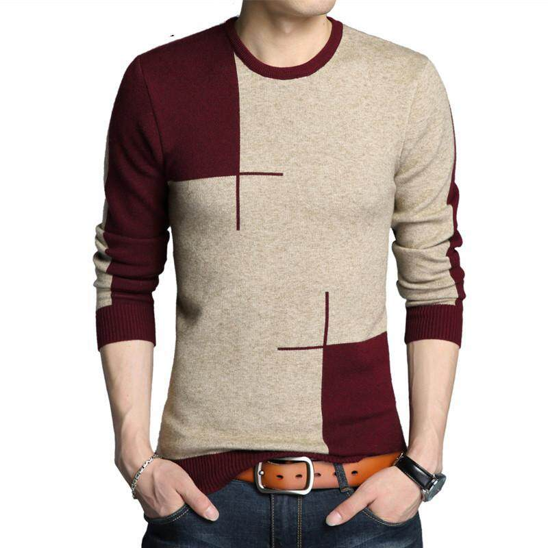Winter New Arrivals Thick Warm Sweaters O-Neck Wool Sweater Men Brand  Clothing Knitted Cashmere 8a486c0da