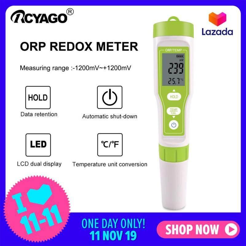 ORP-100 Khử Oxy Hóa ORP Mét Nước Chất Lượng Màn Hình Máy Phân Tích Bút Thử Điện
