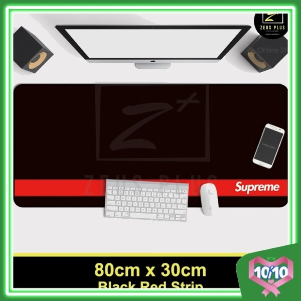 Z PLUS Supreme Large Gaming Thicken Desktop Keyboard Mouse Pad Laptop Accessory(RDStrip) Malaysia